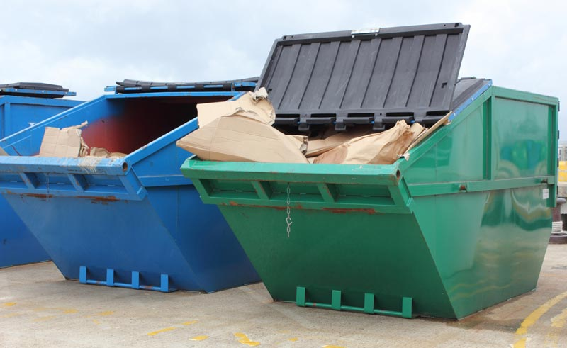 EFR Skips - Our Range of Skips